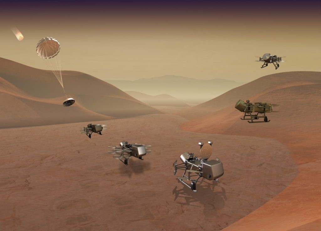 Image result for - Dragonfly mission to Titan